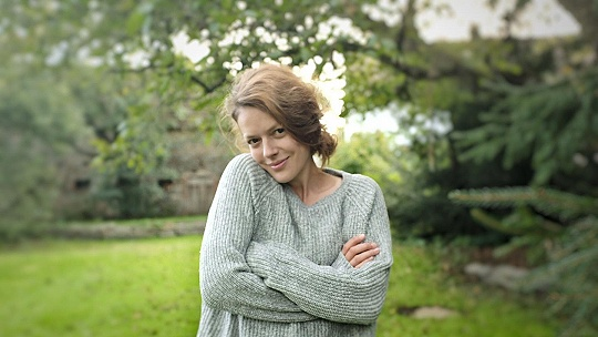 Herečka Andrea Kerestešová je na vidieku...