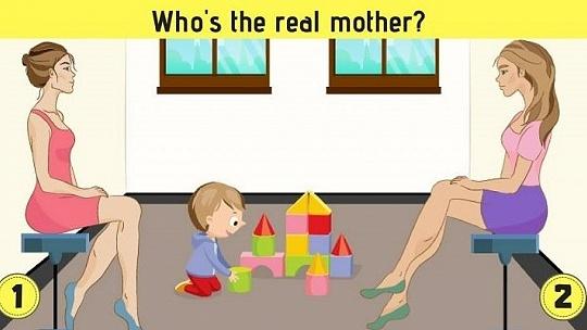 Ktorá z dvoch žien je matkou? Správnu...