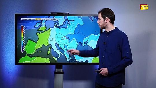 POČASIE Videopredpoveď: Víkendové počasie...
