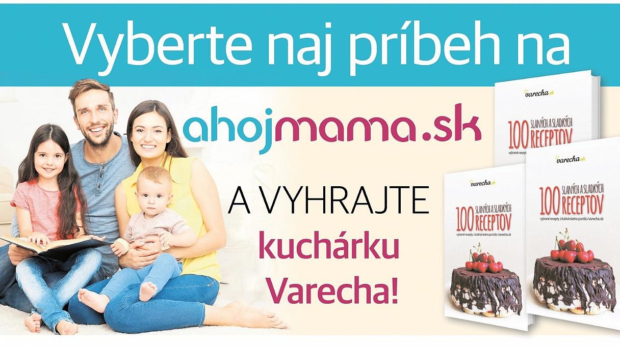 48b870c6b0a5 Vyhrajte kuchárku Varecha! Zahlasujte o naj príbeh z ahojmama.sk ...