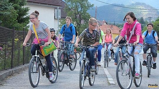 Od pondelka do školy na bicykli, kolobežke...