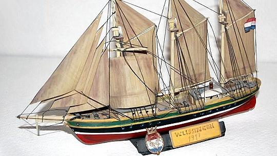 Múzeum vystavuje modely slávnych lodí