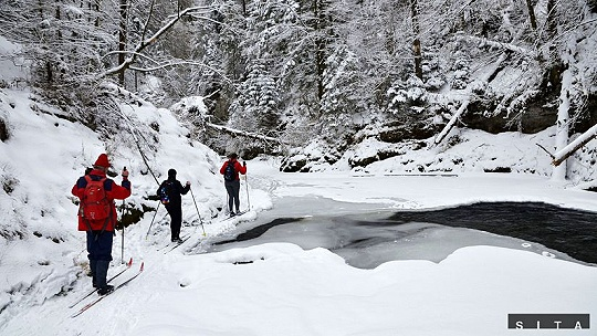 Tip na výlet Na bežkách za krásami zimy, 10...