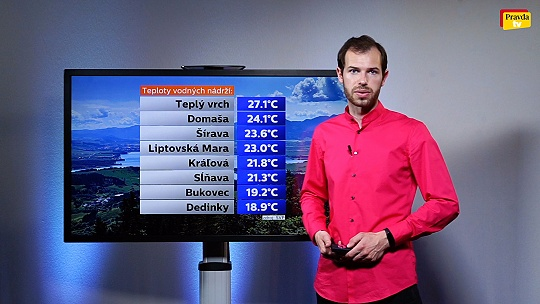 POČASIE Videopredpoveď: Teploty sa dotkli 38...