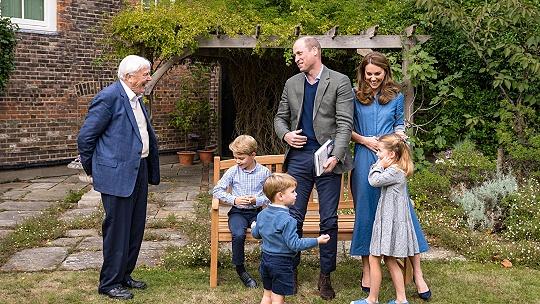 Nové foto princa Williama s rodinou. Malý...