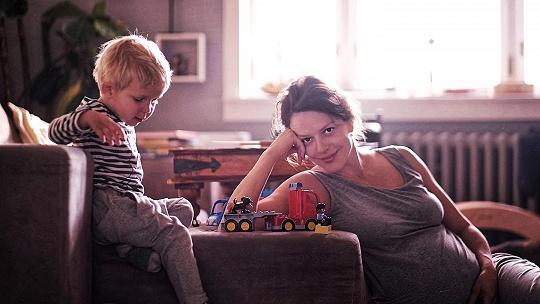 FOTO Krásne bruško tehotnej herečky Andrey...