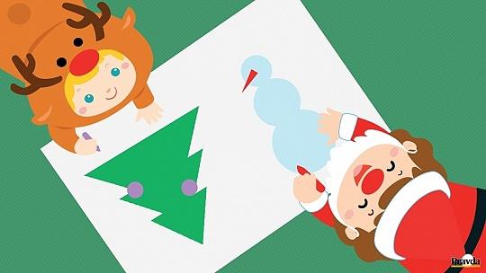 Súťaž: Nakreslite svoje najkrajšie Vianoce...