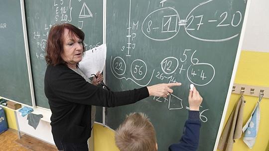 Na Základnej škole Krosnianska v Košiciach...