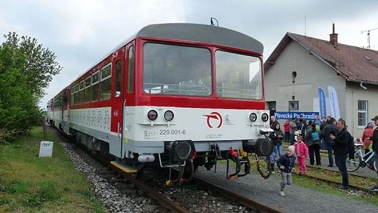 Turistický vlak Záhoráčik bude premávať...