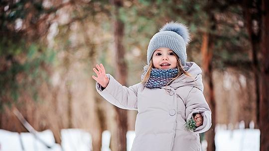 Nedávajte deťom v zime šál na ústa a nos....